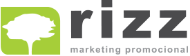 Logo Rizz Marketing Promocional e Corporativo